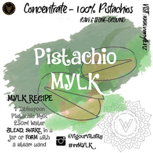 Pistachio Mylk Concentrate - 250ml makes 4L+