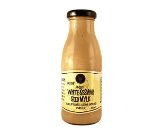 White Sesame Seed Mylk Concentrate - 250ml makes 4L+