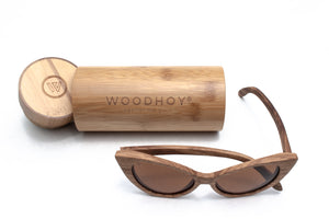 Aurora wooden sunglasses woodhoy