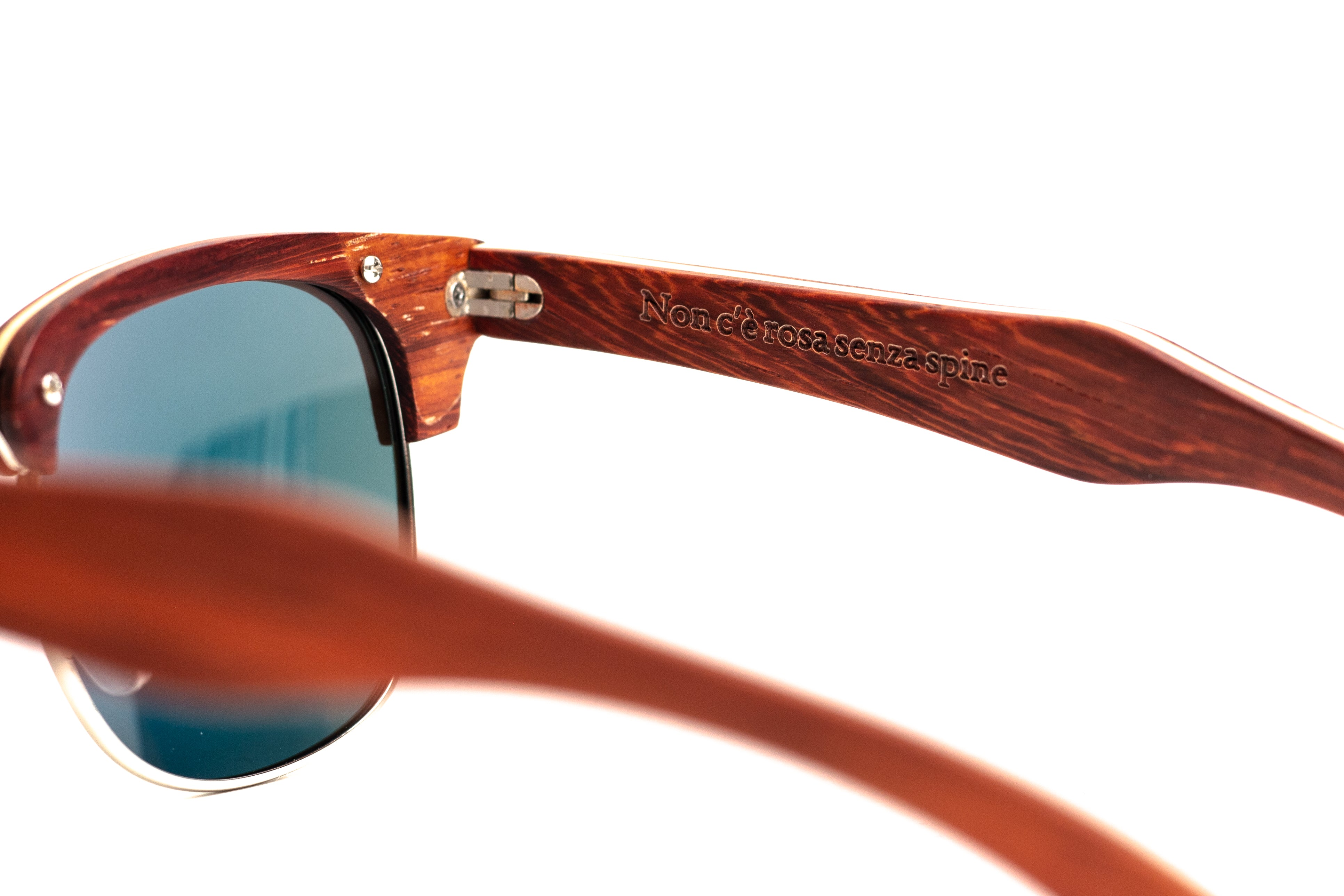 wooden sunglasses woodhoy rosa rossa