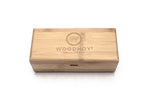 square bamboo case wooden sunglasses