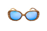 Vintage Diva wooden sunglasses woodhoy