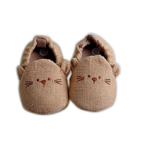 Cotton Slip On Baby Shoes