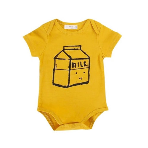 Love Milk Baby Bodysuit