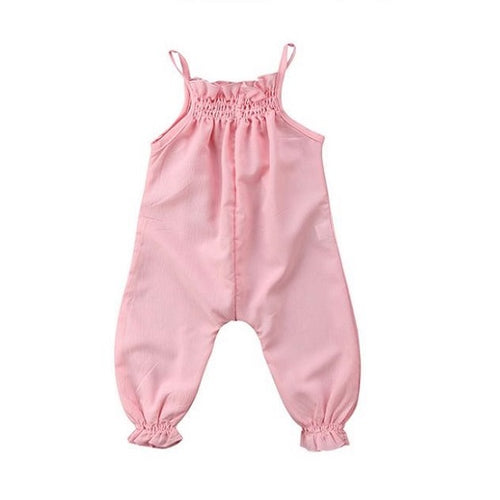 Stylish Ruffled Baby Romper