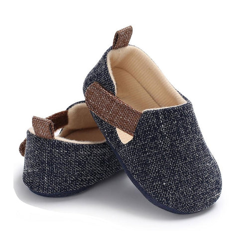 Cotton Blend Baby Shoes