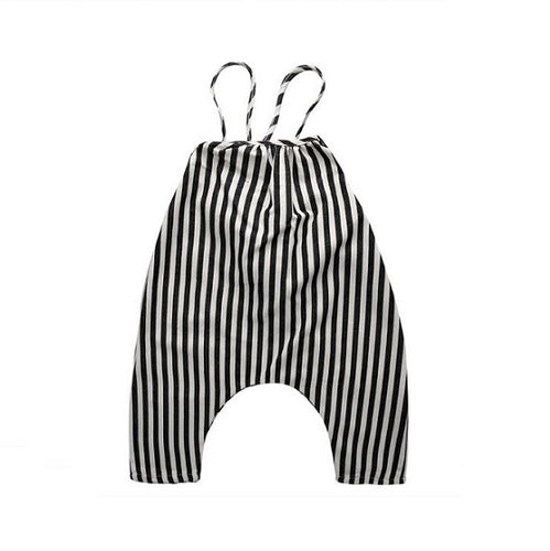 Striped Chic Baby Romper
