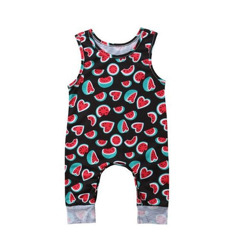 Adorable Melon Baby Romper