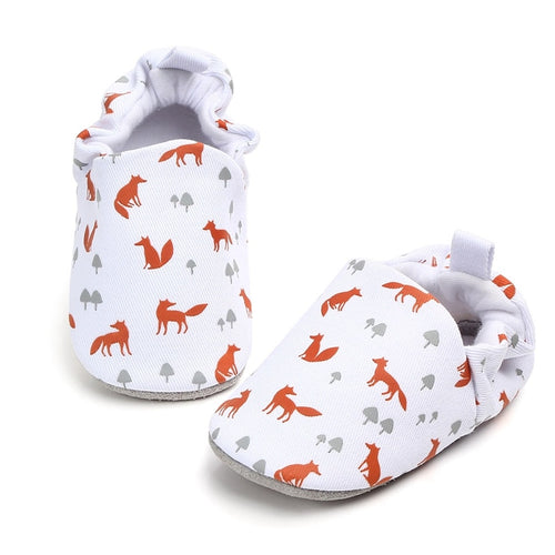 Classic Mr Fox Adorable Baby Shoes