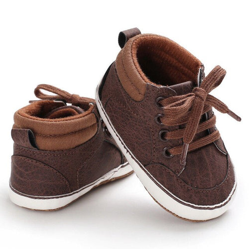 Stylish Brown Baby Boots
