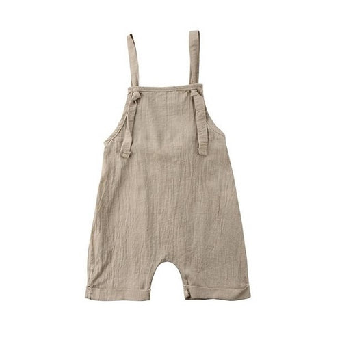 Stylish Backless Baby Romper