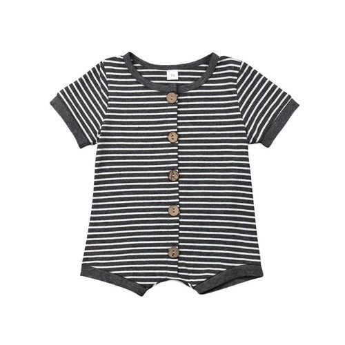 Classic Striped Baby Bodysuit