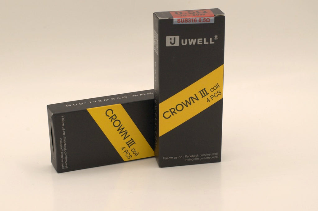 UWELL Crown 3 4-Pack Replacement Coils-VapeRite.com