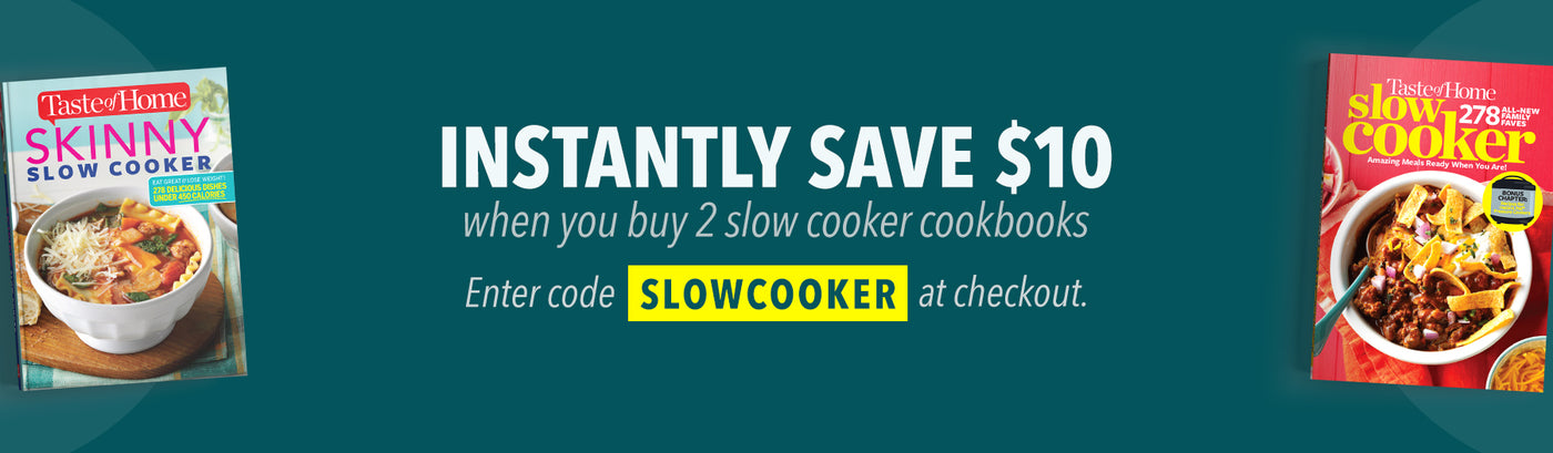 $10 Bundle Discount - Slow Cooker and Skinny Slow Cooker