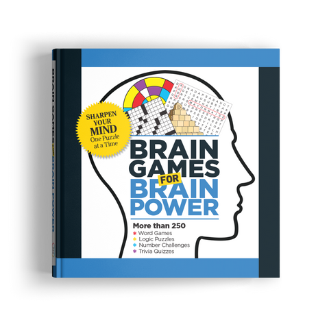 Brain Games for Brain Power (Volume 5)