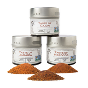 Fiery Flavors Gourmet Seasoning and Rub Collection (Set of 3)