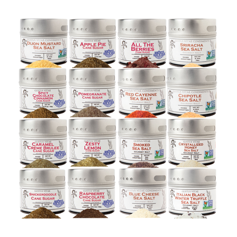 Ultimate All-Season Salts & Sugars (Set of 16)