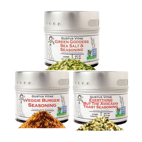 Veggie Lovers Seasonings (Set of 3)