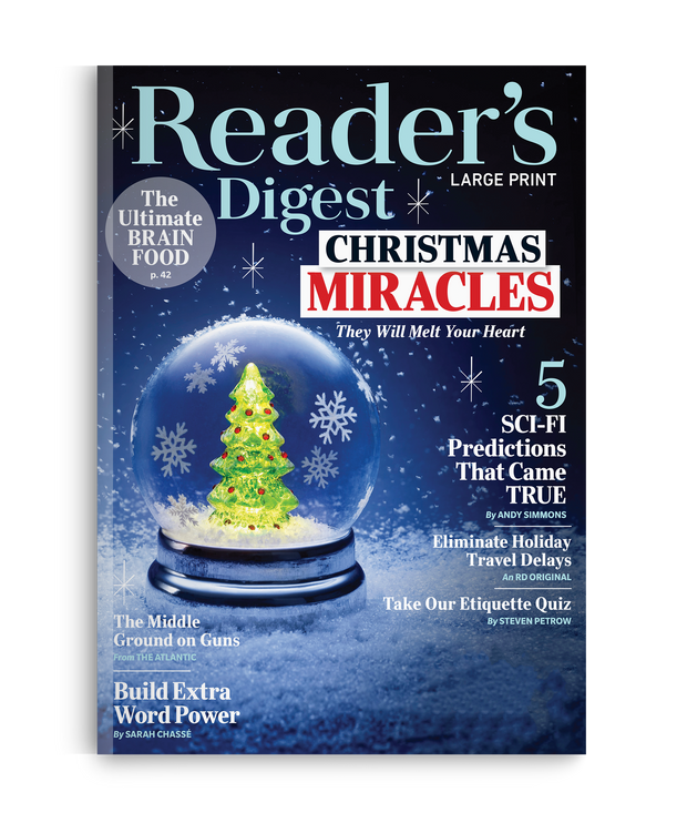 Reader's Digest Large Print Magazine