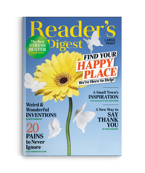 Reader's Digest Large Print Magazine - Single Issue