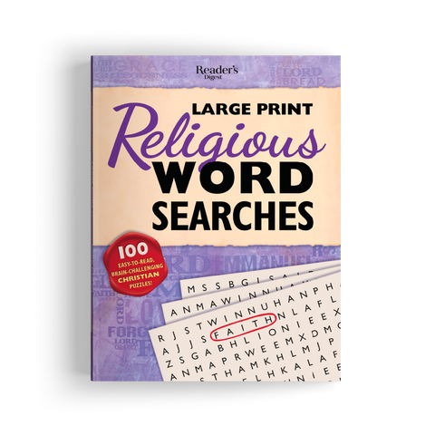 Large Print Religious Word Searches