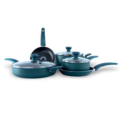 8-Piece Non-Stick Aluminum Cookware Set
