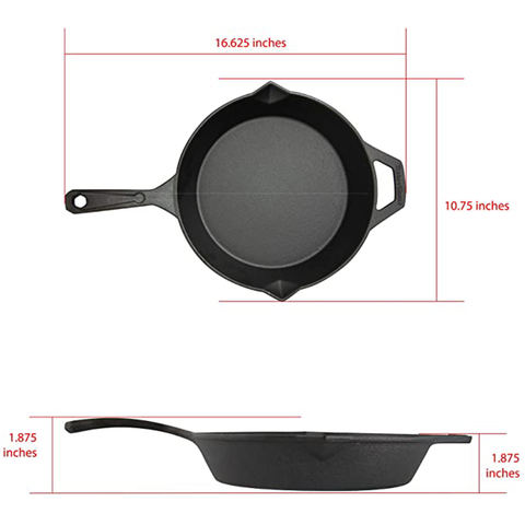 Taste of Home 10-inch Pre-Seasoned Cast Iron Skillet