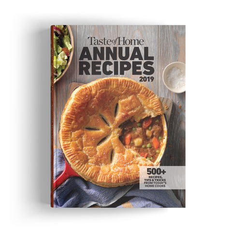 Taste of Home Annual Recipes (2019)