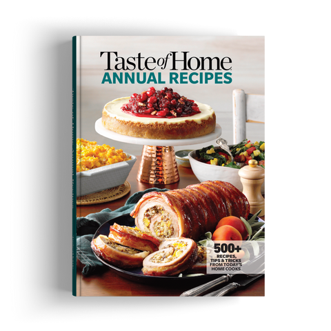 Taste of Home Annual Recipes 2020
