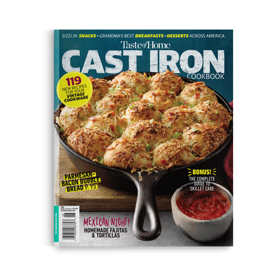 Cast Iron Cookbook (Winter 2020)