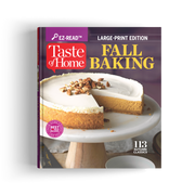 EZ-Read Fall Baking