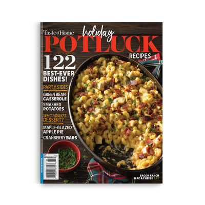 Holiday Potluck Recipes (2018)