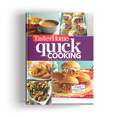 Quick Cooking Annual Recipes (2016)