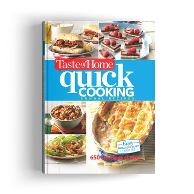 Quick Cooking Annual Recipes (2017)