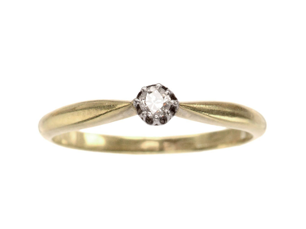 1930s 0.05ct Diamond Solitaire