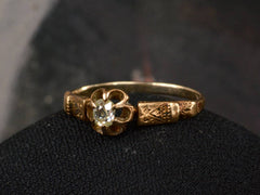 1880s Victorian 0.15ct Diamond Ring