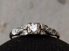 1930s Art Deco 0.20ct Diamond Engagement Ring