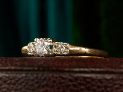1940s 0.23ct Diamond Ring