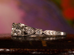 1920s Art Deco 0.25ct Diamond Engagement Ring