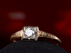 1920s Deco 0.26ct Ring
