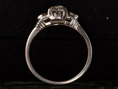1930s Art Deco 0.26ct Ring