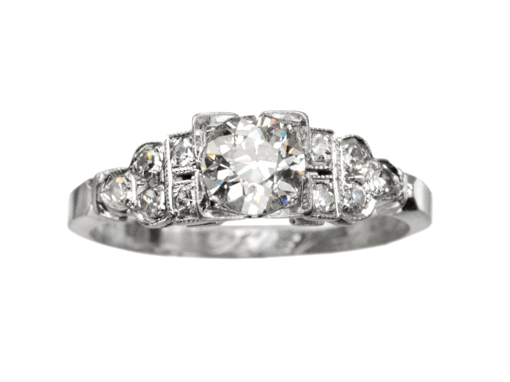 1936 Deco 0.28ct Engagement Ring
