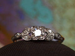 1930s Art Deco 0.30ct Ring