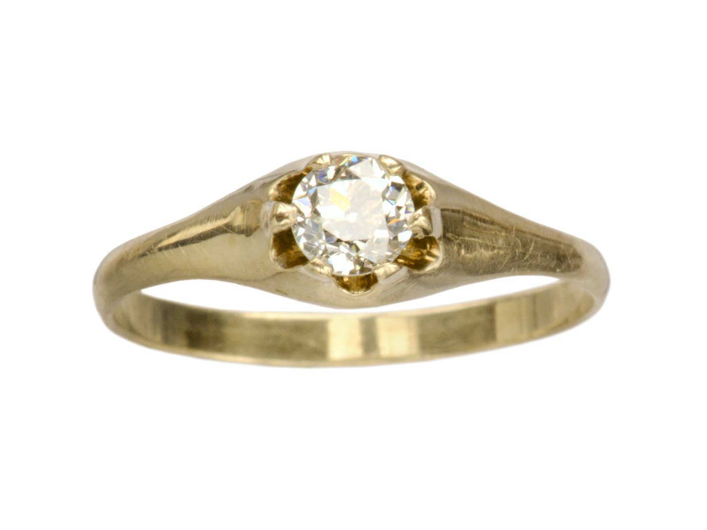 1900s 0.34ct Diamond Ring
