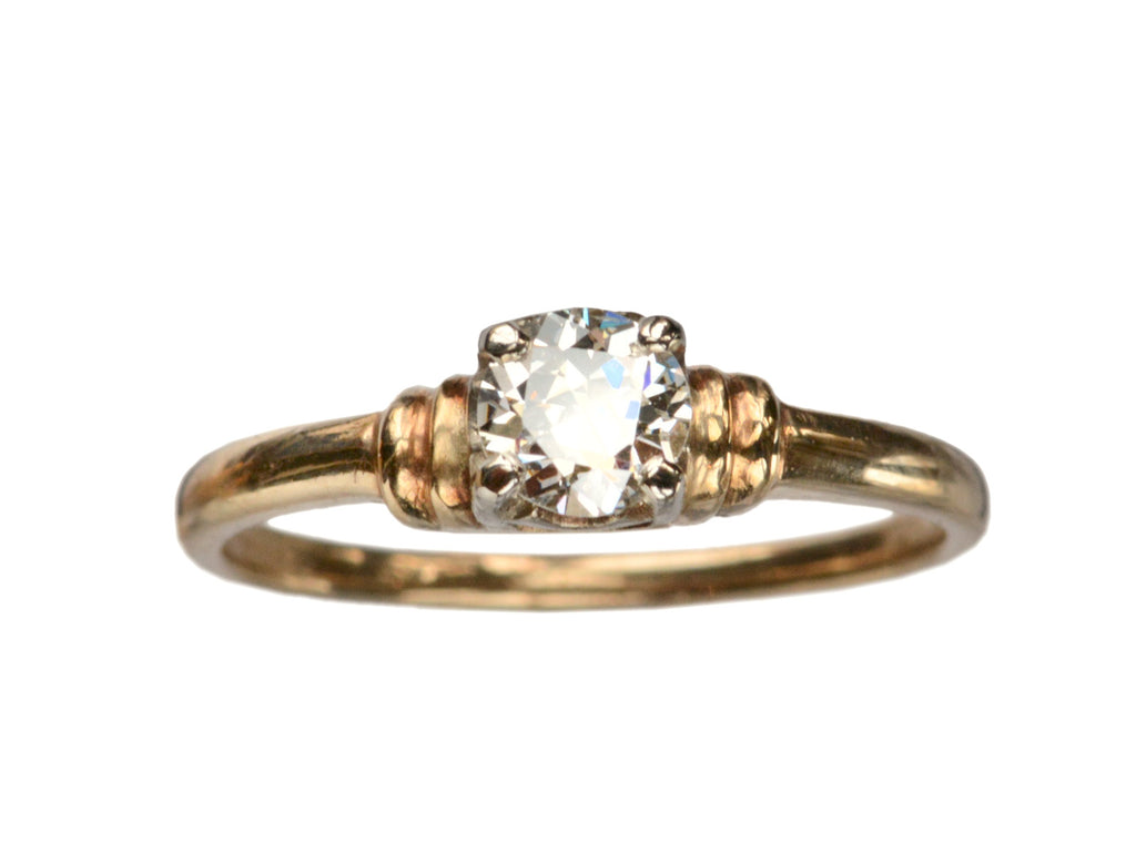 1940s 0.35ct Diamond Ring