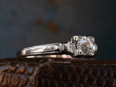 1930-40s 0.35ct Diamond Ring