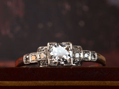 1930s Art Deco 0.35ct Engagement Ring