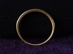 1980s Yellow Gold Diamond Band
