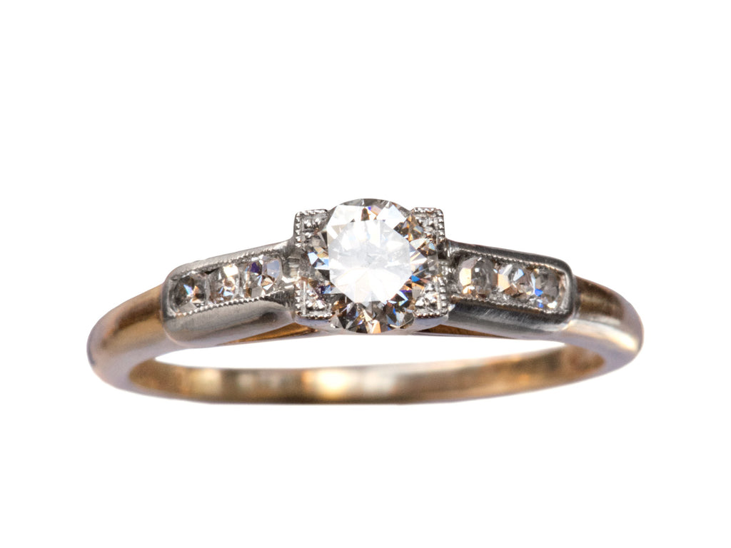 1930s 0.37ct Diamond Ring