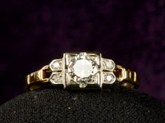 1930s Deco 0.37ct Ring